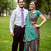 Baxi/Shah Engagement : Khanjan and Samir are flying their love all the way to India in February for their wedding.  On our photo shoot at Furman University, Khanjan's alma mater, people couldn't take their eyes off of her beautiful attire.  Enjoy :)